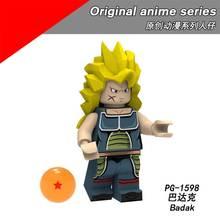 P8182 compatível Legoing série Sun Wukong Vegeta Dragon Ball Anime Original brinquedos de Montar Blocos de Construção modelo de personagem(China)