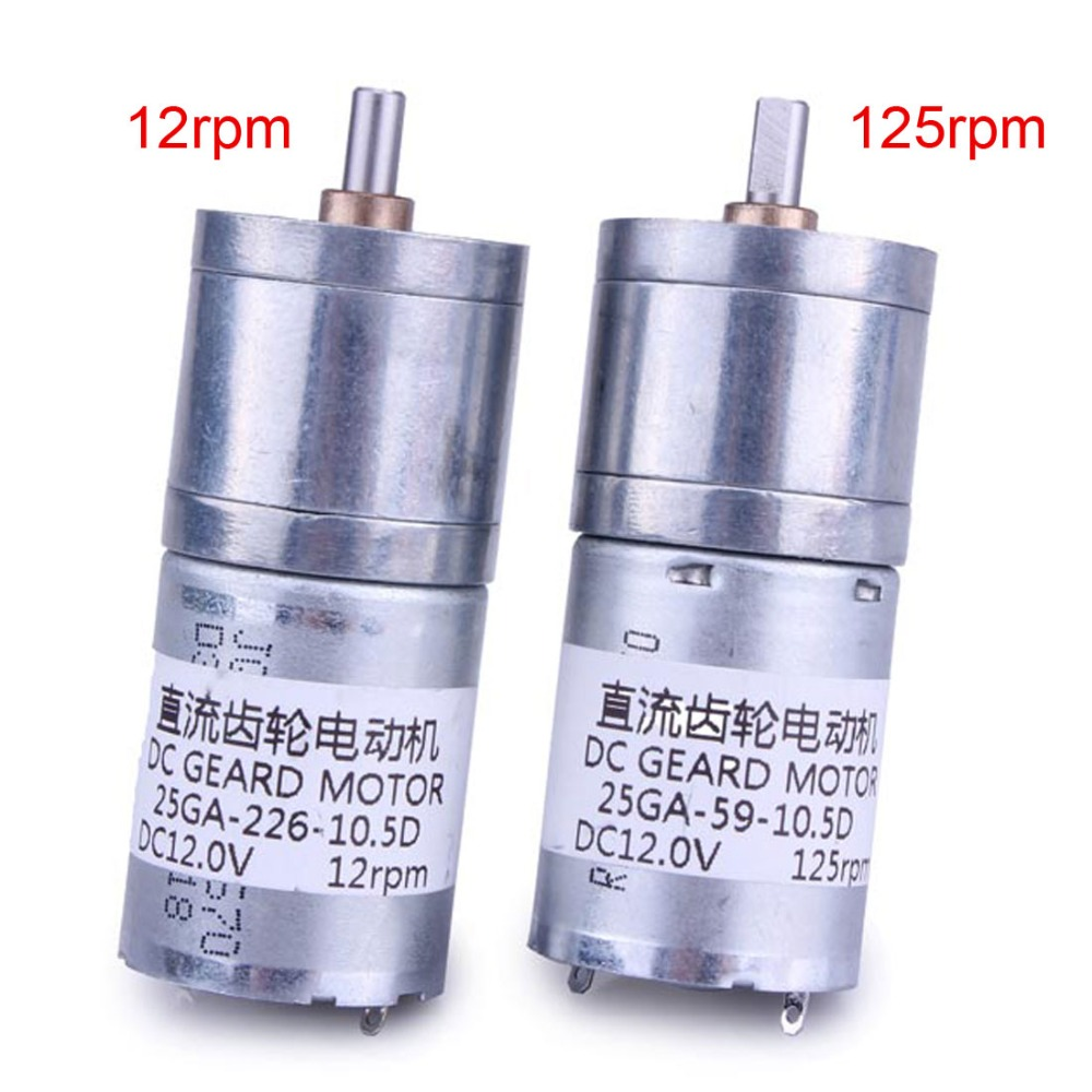 12V DC High Torque Gear Reducer Electric Motor(China (Mainland))