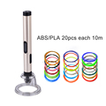 christmas gifts 4X 3d pen wiht USB cable group wiht various ABS PLA for children student