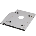 Aluminum Universal 2nd HDD Caddy 9 5mm SATA 3 0 LED Indicator for 2 5 Inch