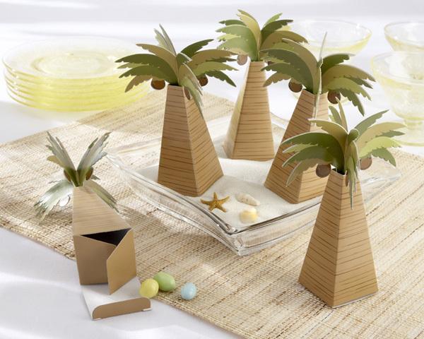 Free Shipping Retail Palm Tree Wedding Gift Boxes,Wedding favor boxes 120pcs/lot