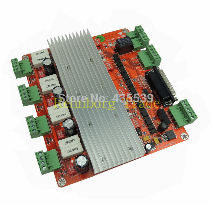 Free shipping factory outlets cnc mach3 4 axis controller 4 axis stepper motor controller