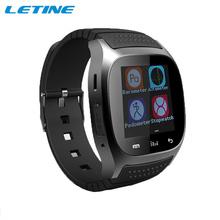 2015 умных часов андроид износ Bluetooth водонепроницаемый Smartwatch шагомер барометр термометр для Android телефон часы WB06