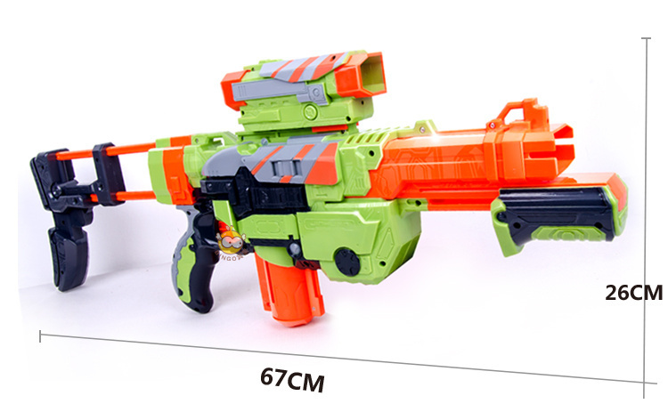 Image is loading Nerf-Vortex-Nitron-Electric-Automatic-Foam-Disc-Shooter-
