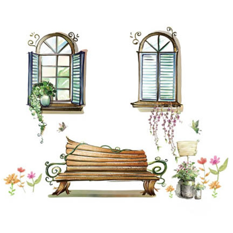 free shipping vinyl wall art decals home decorative window