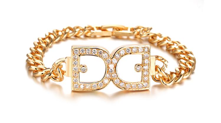 mgsl019 luxury designer bride wedding jewelry 18k gold plated aaa