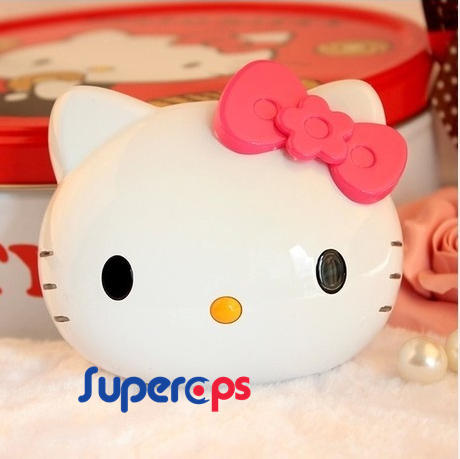 12000mAh Hello Kitty Power Bank Fashion kitty Cartoon Cute USB External Universal Battery Charger Retail Package - Superops Int' Ltrade Limited store