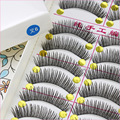 10 pair Professional False Eyelashes Natural Sparse Cross False Eyelashes Extension Long Eye Lashes Natural Makeup