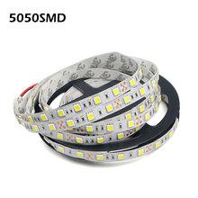 5M (Meters) 12V SMD 5050 RGB Flexible LED Strip Light 60LEDs/M Brighter Than 3528 LED String Tape For Indoor Decoration lighting(China (Mainland))