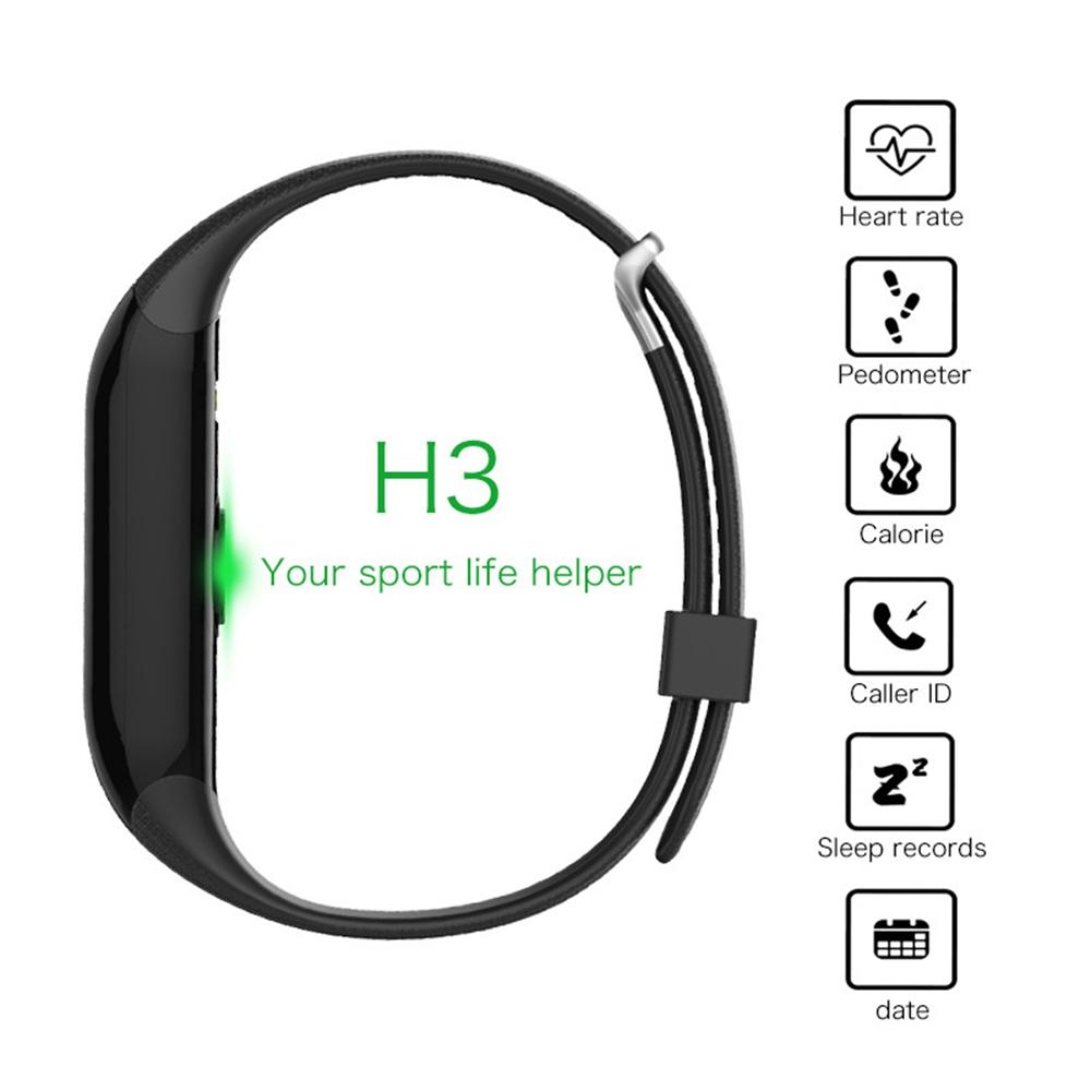 ถูก H eart rate monitorสมาร์ทวงกีฬาสร้อยข้อมือติดตามการออกกำลังกายบลูทูธ4.0 ip65กันน้ำนาฬิกานาฬิกาสำหรับios xiaomi huawei htc