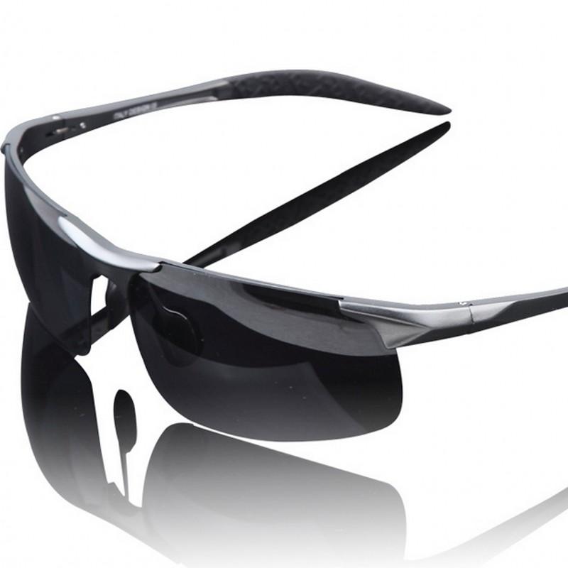 Aluminum Magnesium Alloy Frame Polarized Sunglasses Men's Driver Sunglass Mirror Outdoor Sports Glasses wholesale free shipping(China (Mainland))