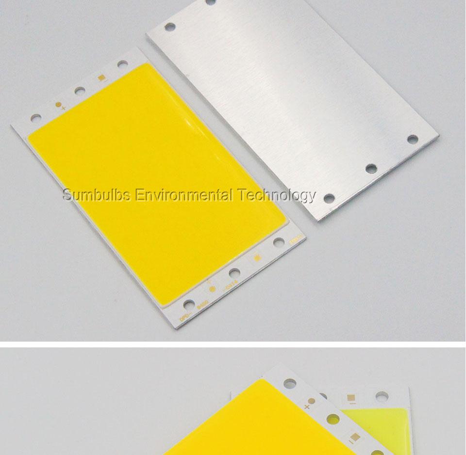 15W LED COB Strip Light Lamp Bulb dc12V warm cold white blue LED  (4)