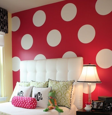 simple shape wall stickers - Simple Shapes Wall Design