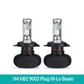 A Pair H4 HB2 9003 Plug LED Car Headlight Bulbs CSP Chips Hi Lo Beam 8000lm