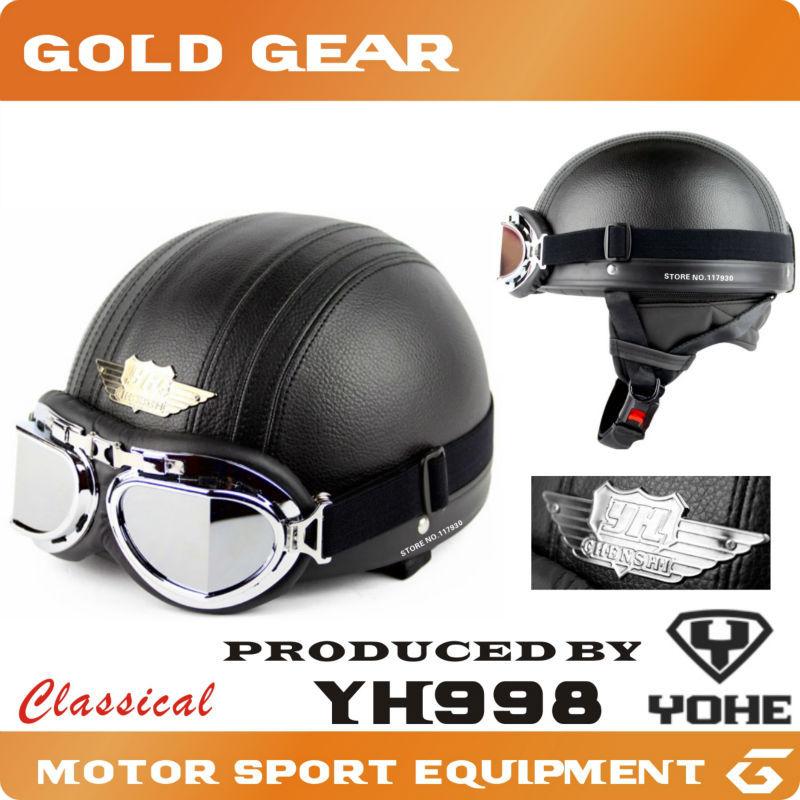 Protective Gears>Helmets motorcycle harley helmet half face motorcycle helmet capacete motorcycle casco motorcycle motorbike(China (Mainland))