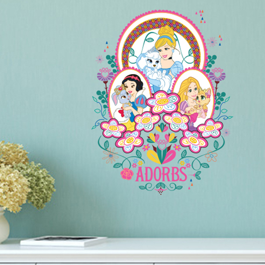 aliexpress com buy princess wall stickers home snow white wall stickers disney snow white wall decals