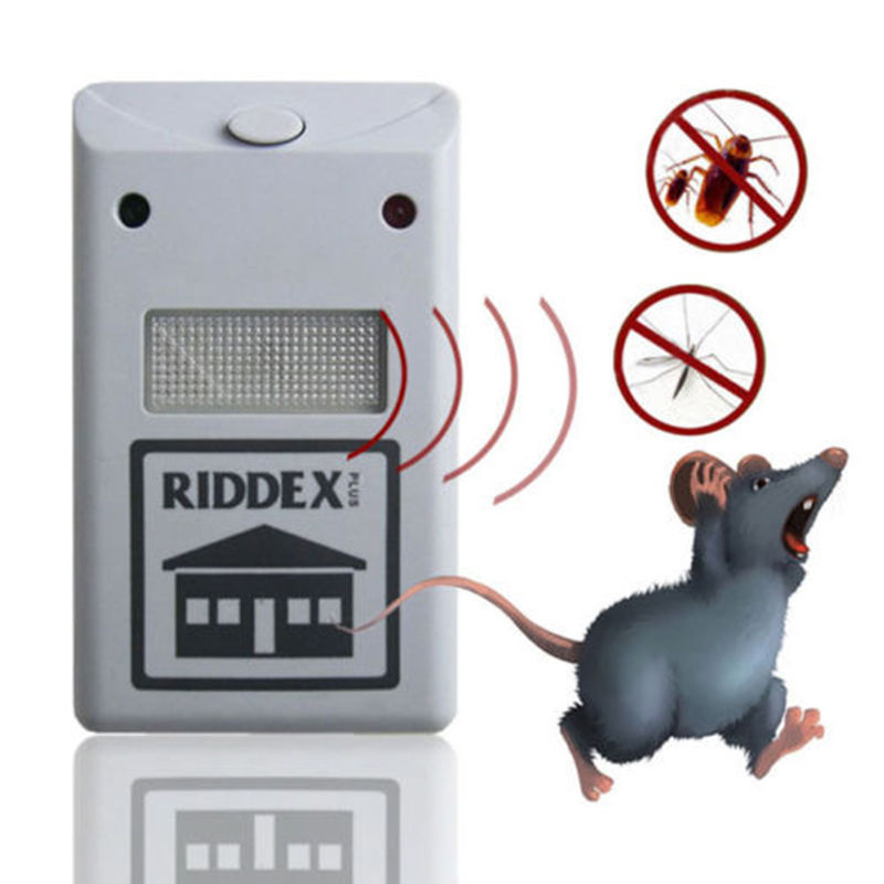 Riddex Plus Pest Repellent Repelling Aid for Rodents Roaches Ants Spiders EU(China (Mainland))
