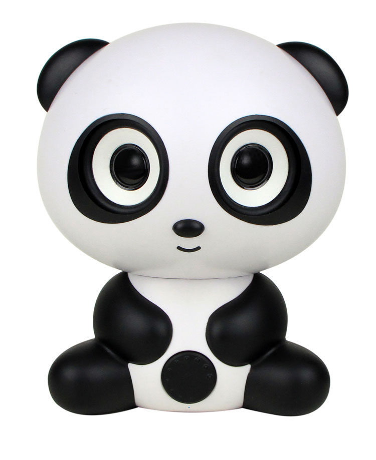 2015 lucky fortune Panda gift for girls child Wireless Bluetooth Speakers Support TF Card FM For iPhone Android phone MK502S-BT(China (Mainland))