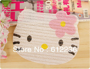 Hello Kitty Tableware mats mobile phone pads car mats convenient mats functionable good as gifts for friends hot sellling new