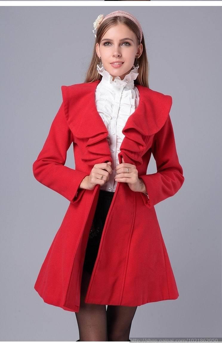 Red Long Jacket zozFHo