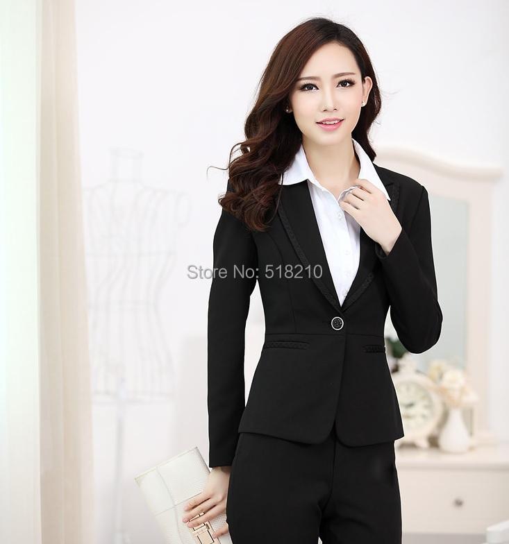 Plus Size 4XL New Professional Business Blazers Formal Office Ladies Blazer Coat Jackets Tops Outwear Women Blaser Feminino(China (Mainland))