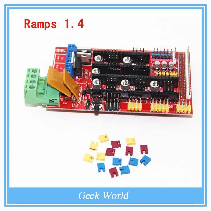 Гаджет  Multicolor RAMPS 1.4 3D printer control panel printer Control Reprap Mendel Prusa  RAMPS with high quality None Офисные и Школьные принадлежности