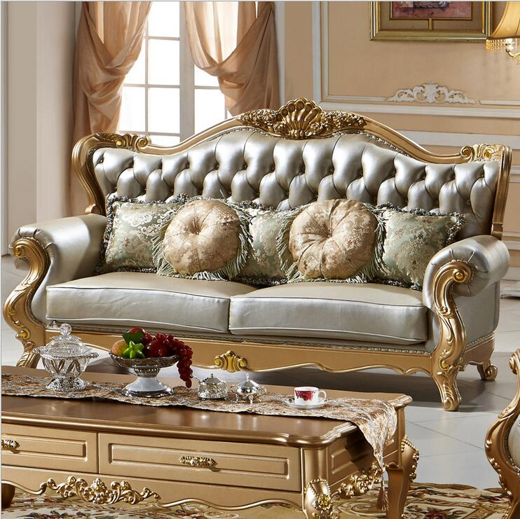 Living Room Furniture Best Quality: High Quality European Antique Living Room Sofa Furniture