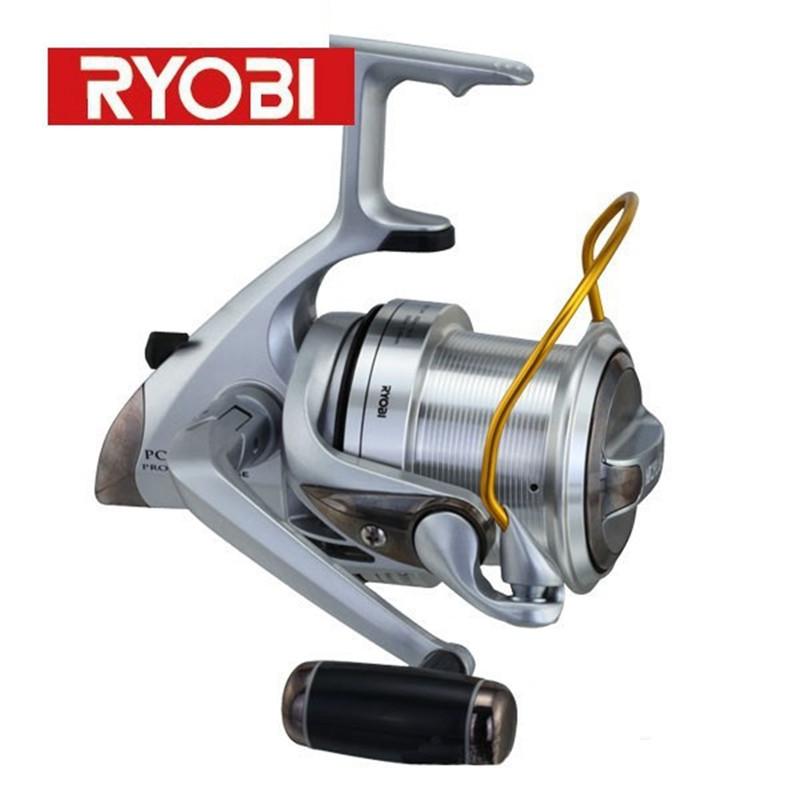 Spinning fishing reels ryobi proskyer nose 3 9 1 front for Ryobi fishing reel