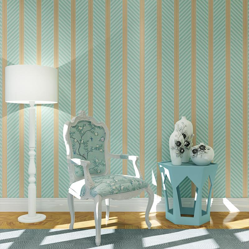 Buy Design Shimmer Wave Lines Stripe Pvc Wall Paper Home Decor Wallpaper For