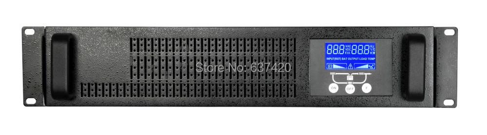 Rack UPS 1KVA 800W Online UPS Long Backup Time Rack-mountable UPS 1000va 220V 50hz(China (Mainland))