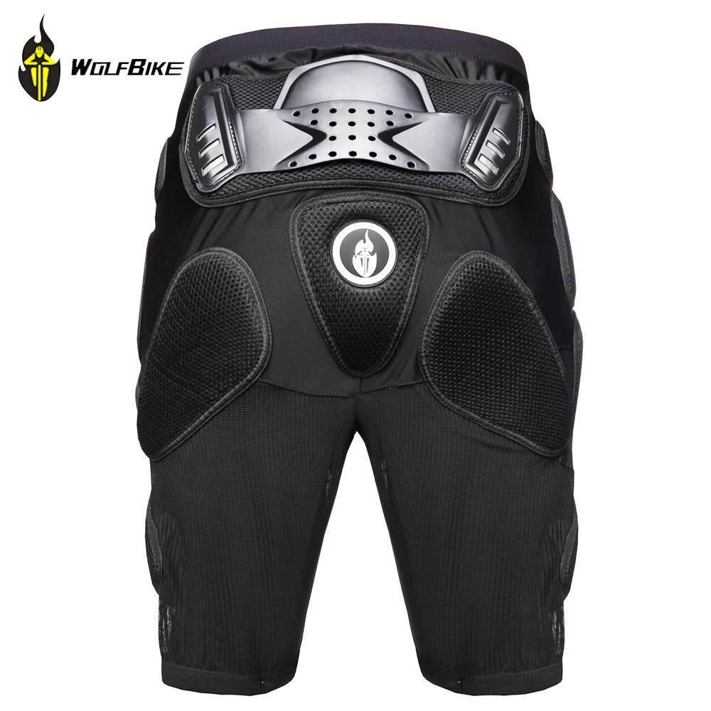 WolfBike Outdoor Sports Ski Skate Snowboarding Hip Protector Motorcycle Skating Roller Armor Shorts Pants Hip Padded Shorts
