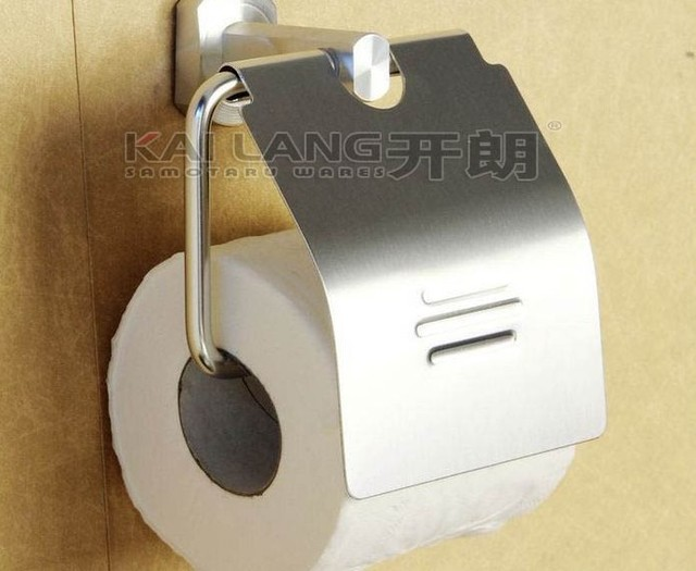aluminum tissue holder toilet paper holder  with lib bathroom accessories  toilet appliance