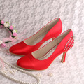 Wedopus MW090 Customize Crystal Rhinestone Red High Heels Shoes Dropship