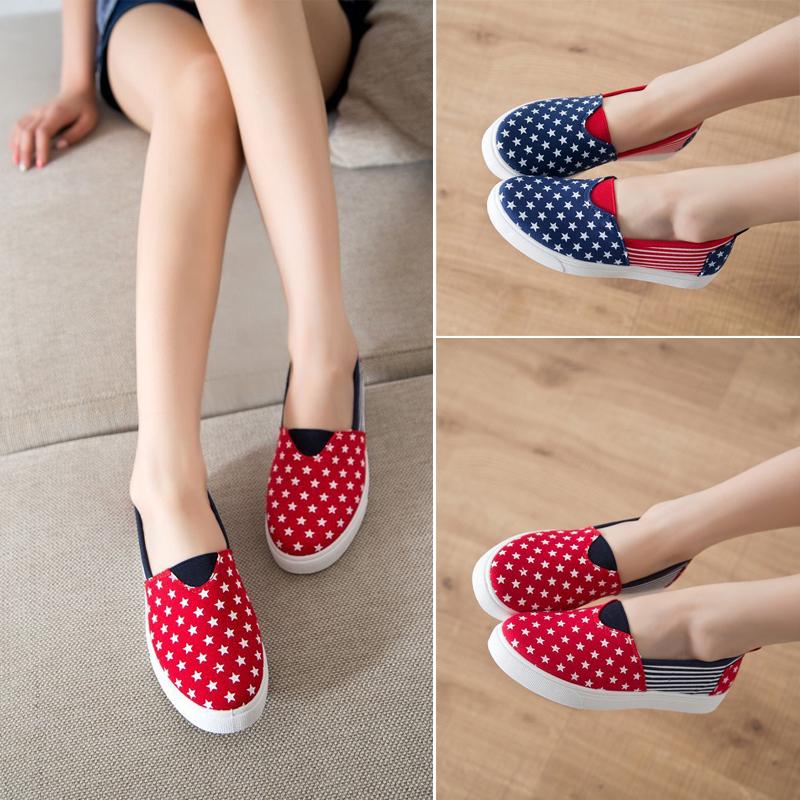 Women's fashion canvas shoes