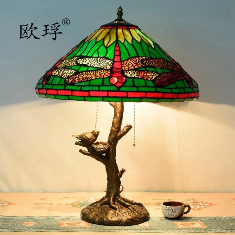 Achetez en gros stained glass dragonfly table lamp en - Table pastorale de la bible en ligne ...