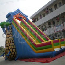 12(L)*7(W)*8(H)m Giant Outdoor Commercial Inflatable Slides For Sale(China (Mainland))