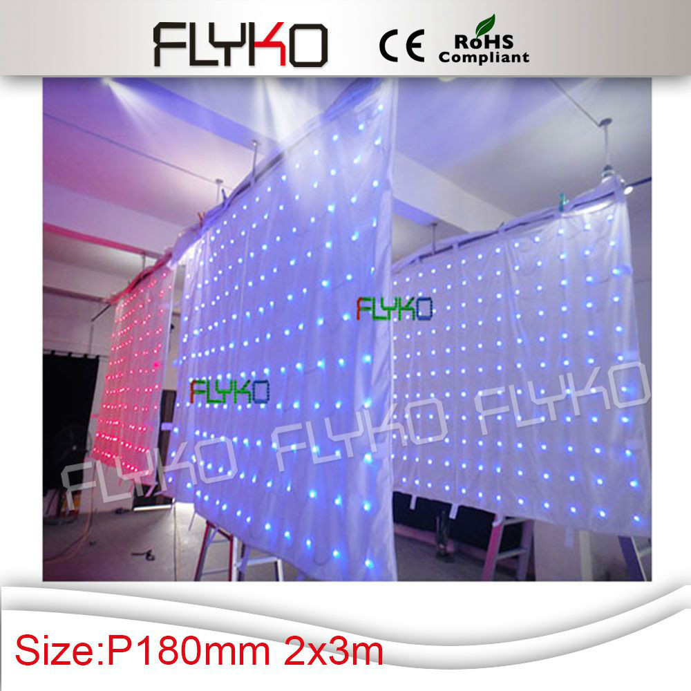 Free shipping p18 indoor rgb full color stage decoration for Indoor stage decoration