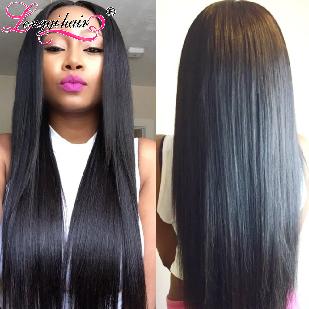 7A Filipino Virgin Hair Straight Human Weaves, 3 Bundles Xuchang Longqi Beauty - Products Co., Ltd. store