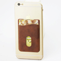 3M Phone Card Holder PU Card Holder Cell Phone Credit Card Holder Card Holder Phone Coffee