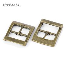 Hoomall Brand 10PCs Shoes Buckles Belt Buckles Metal Shoe Accessories Bronze Tone 33x27mm(China (Mainland))