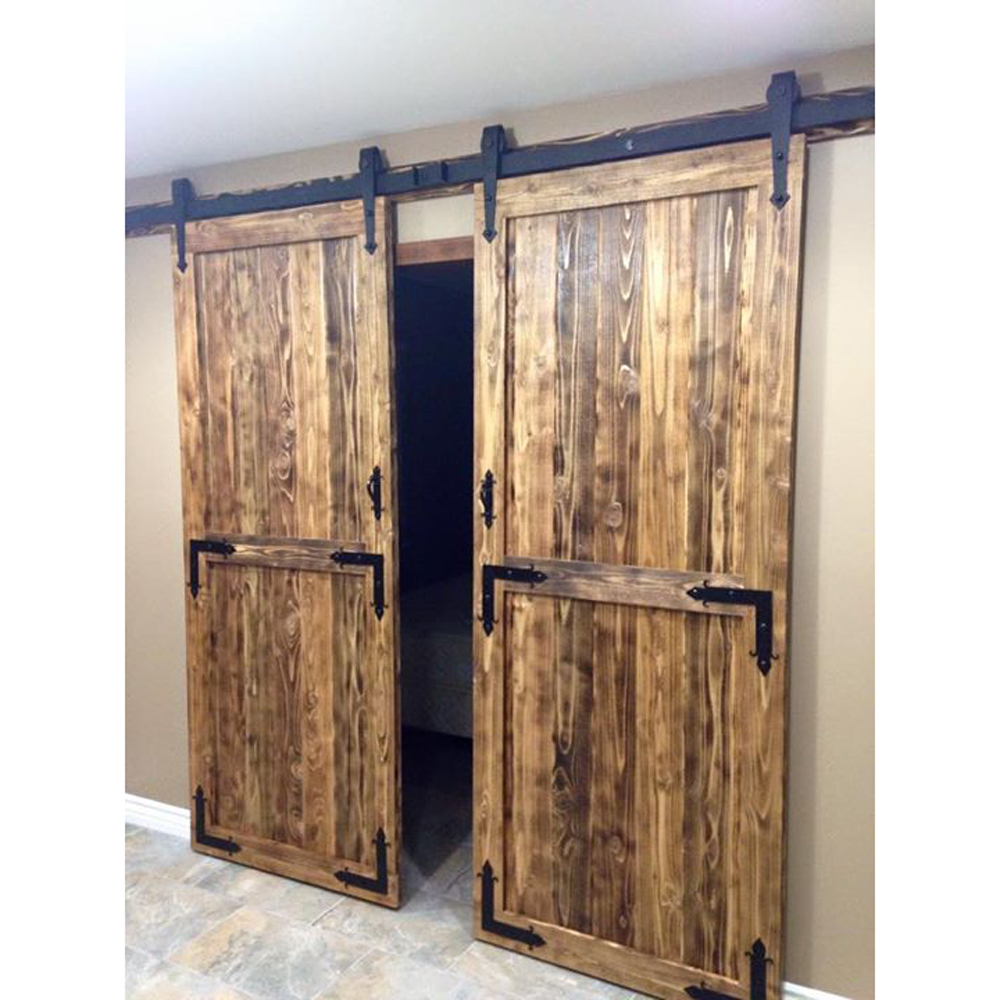 Sliding Double Door Hardware Closet Set From Reliable Wood Drum
