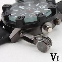 Watch Men Sport Military Watches Brand Fashion Casual Quartz black waterproof Clock Wristwatch Relogio Masculino - Future Store store