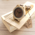 BOBO BIRD 4 Models Wood Watches for Men Luxury Brand Bamboo Watch Wooden Men s Wristwatches
