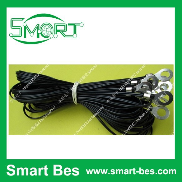 ~2 NTC Thermistor 100 k +-1% 3950, copper tin shell ,1.5 meter temperature sensor - Shenzhen S-Mart Electronics Co., Ltd~ 24hour fast shipping~ store