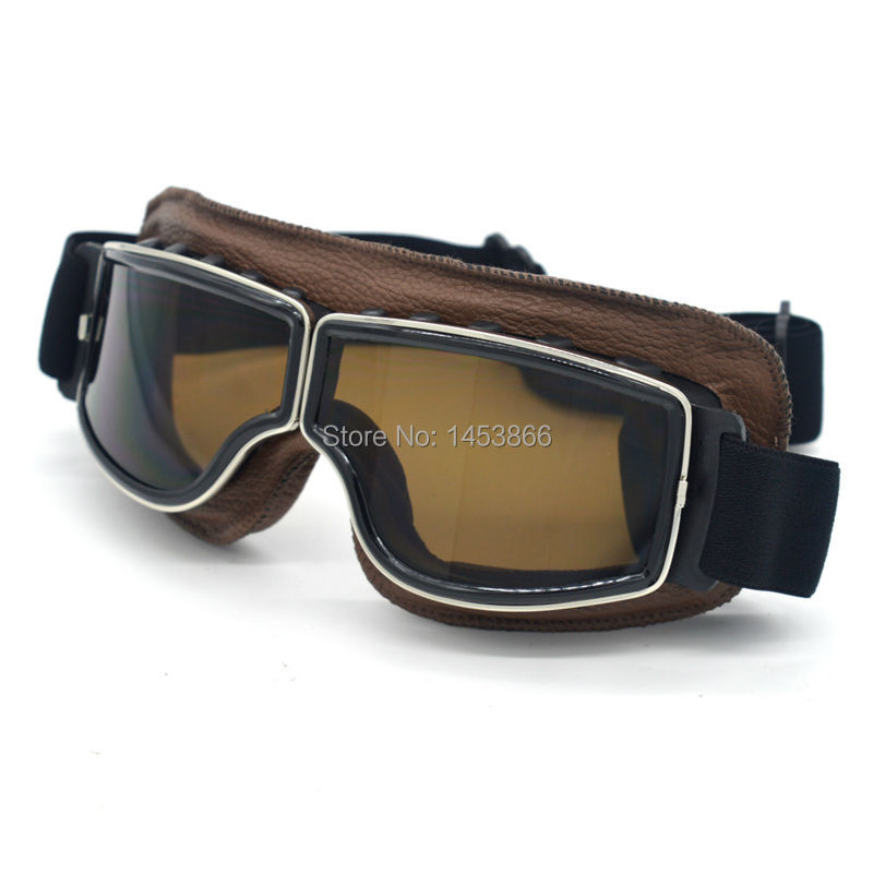 New Retro Motorcycle Goggles Harley style Glasses Oculos Antiparras Gafas Motocross Goggles For Motorcycle Helmet