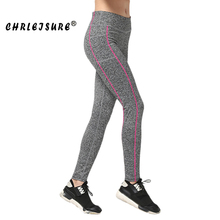 Buy Chrleisure Classic Print Women Leggings Elasticity Workout Legins Pants Quick-drying Fitness Leggings Big Size for $8.77 in AliExpress store