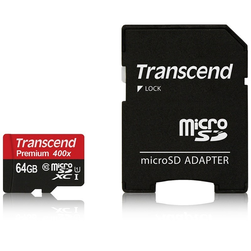 Transcend Micro SD Card 128GB/64GB Class10 Memory Card Flash Memory Cartao Micro SDHC XC 400X for Phone/Tablet/Camera
