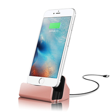 Buy Usb Charger Data Sync Charging Adapter Stand Cradle Dock iPhone 5s 5 SE 6 6Plus iPhone 6s Station Trackable Fast Shipment for $2.59 in AliExpress store