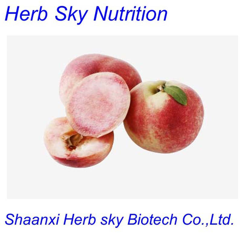 ISO, HACCP Certified Peach Kernel Extract 10:1, 20:1 Powder, or other ratio 500g/lot free shipping by EMS(China (Mainland))