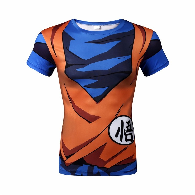 Dragon Ball Z Men 3D T-Shirts - free shipping worldwide